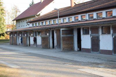 Pferdehof Aitrachaue Stall